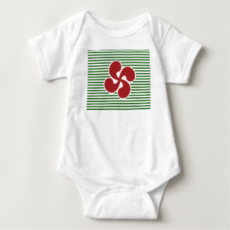 Cross Marine Basque Baby Bodysuit
