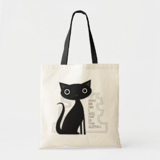 Cross me and Ill poop in your slippers Budget Tote Bag