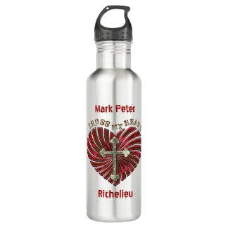 Cross-My-Heart (Personalized) 710 Ml Water Bottle