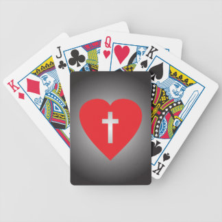 Cross My Heart Poker Deck