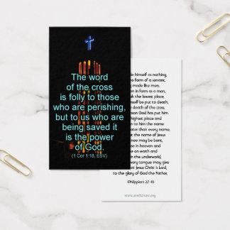 Cross of Christ Handout Card
