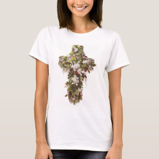 Cross of Flowers T-Shirt