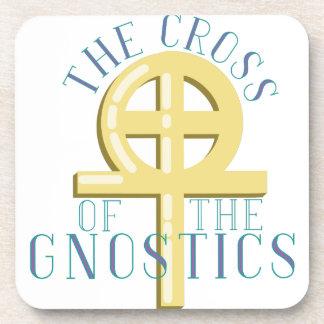Cross Of Gnostics Coaster