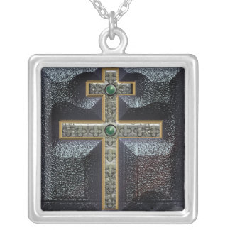 cross of lorraine custom necklace