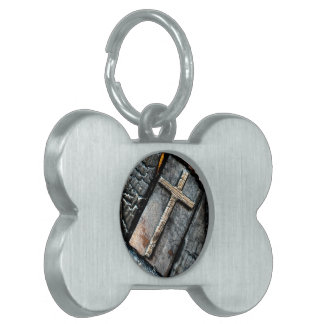 Cross of Protection Pet Tag