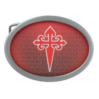 Cross of Saint James Belt Buckle