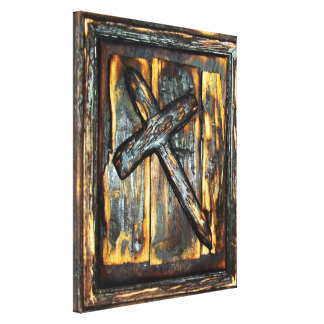 Cross of The Apocalypse Gallery Wrap Canvas