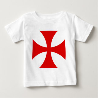 Cross of the Knights Templar Baby T-Shirt