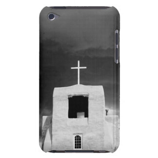 Cross on oldest church, San Miguel, Santa Fe, Barely There iPod Covers