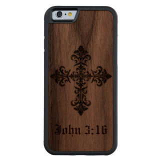 Cross on Wood iPhone 6 Case