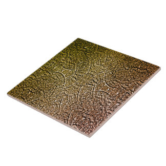Cross Ornament Large Square Tile