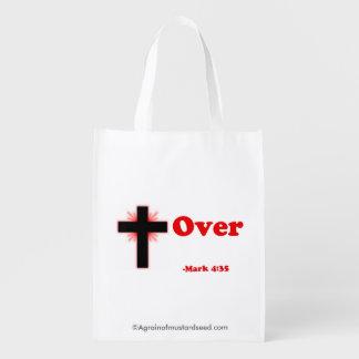 Cross Over Reusable Grocery Bags