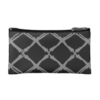 Cross Patch Cosmetic Bag