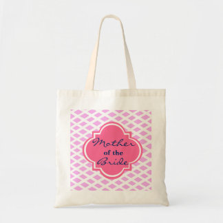 Cross Pattern Mother of the Bride Wedding Tote Bag
