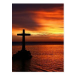 cross postcard
