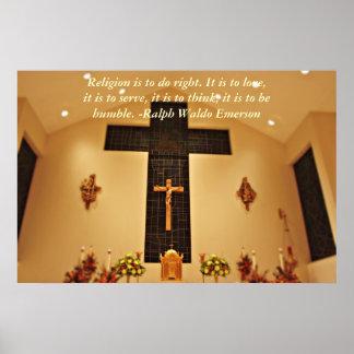 Cross Religious Poster