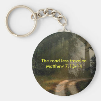 Cross Road Key Ring