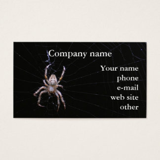 Cross Spider ~ biz card