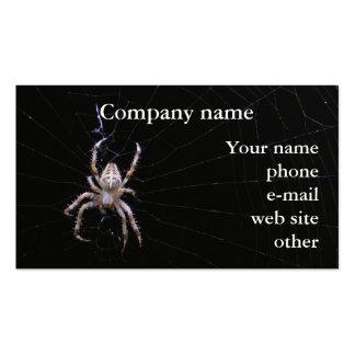 Cross Spider biz card Business Card Template
