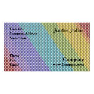 Cross stitch business card template