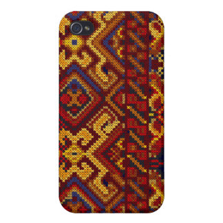Cross Stitch Embroidery Pattern iPhone 4/4S Speck iPhone 4 Covers