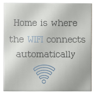 Cross Stitch Home WIFI Tile