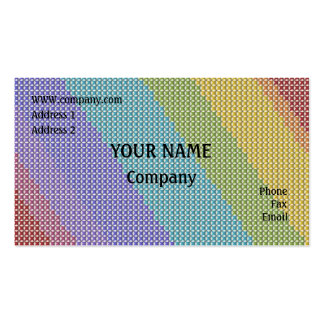 Cross stitch pack of standard business cards