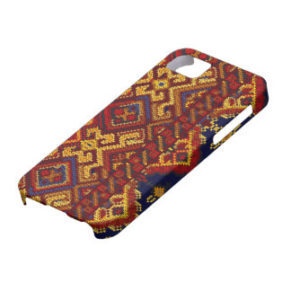 Cross Stitch Pattern iPhone 5 ID Case