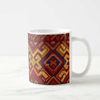 Cross Stitch Pattern Mug