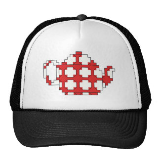 Cross stitch spotty teapot cap