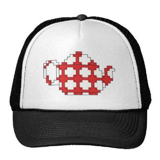 Cross stitch spotty teapot cap