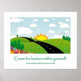 Cross the Horizon POSTER