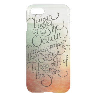 Cross the Ocean iPhone 7 Case