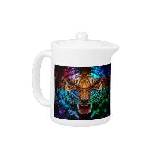 Cross tiger - angry tiger - tiger face - tiger wil