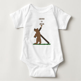 Cross to Bear (infant) Baby Bodysuit