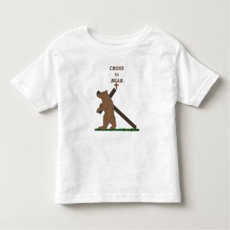 Cross to Bear (toddler t) Toddler T-Shirt
