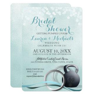 Cross Trainer Bridal Shower Card