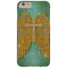 Cross w Glitter Diamond Jewel Look Angel Wings Barely There iPhone 6 Plus Case