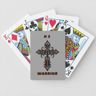 Cross/Warrior...MS Bicycle Playing Cards