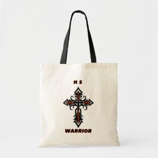 Cross/Warrior...MS Tote Bag