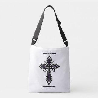 Cross/Warrior...Sarcoidosis Crossbody Bag