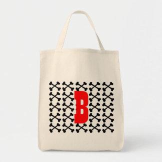 Crossbones Canvas Bag