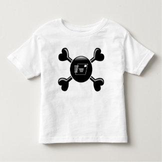 Crossbones Postal Service Toddler T-Shirt