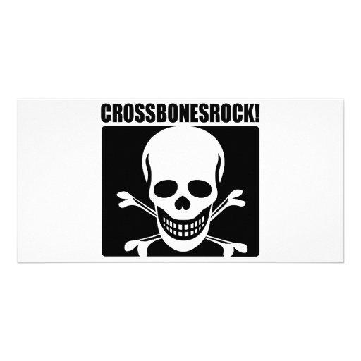 Crossbones Rock! Picture Card