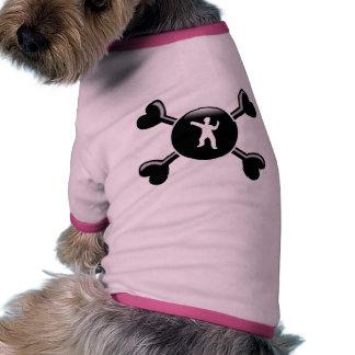 Crossbones Tai Chi Pet Clothes