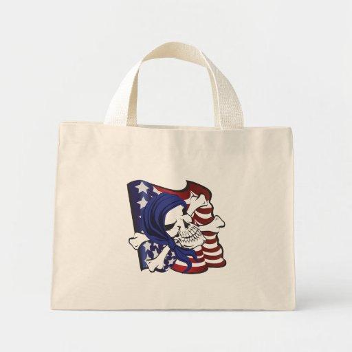 Crossbones USA Canvas Bags