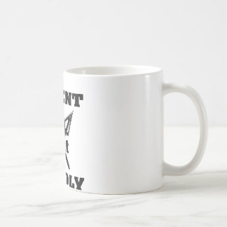 Crossed Arrows Silent But Deadly 5 Coffee Mugs