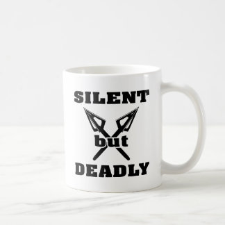 Crossed Arrows Silent But Deadly 5 Mug