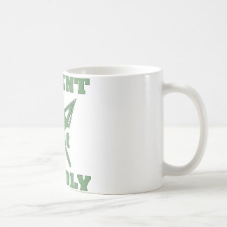 Crossed Arrows Silent But Deadly 6 Basic White Mug