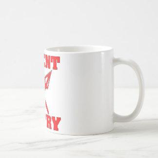 Crossed Arrows Silent Entry Coffee Mug